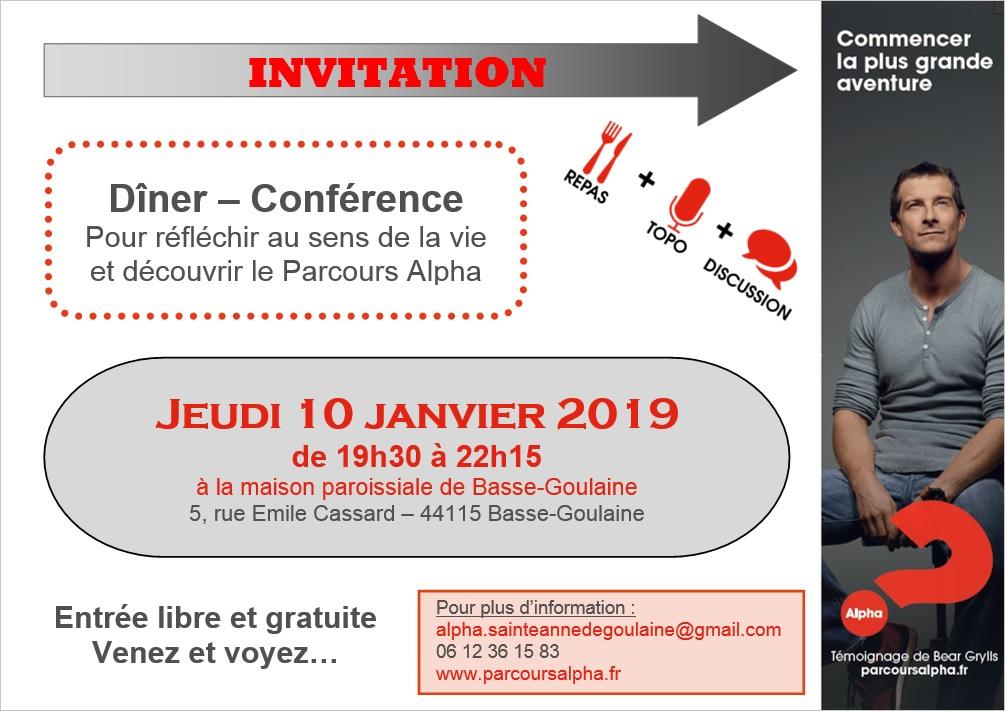 Alpha Invitation 2018